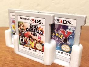 Modular 3-Slot 3DS Cartridge Holder