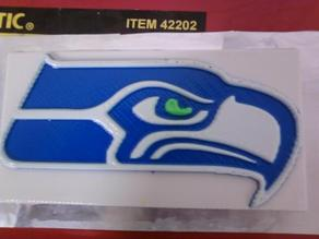 Seattle Seahawk Plaque