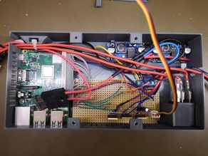 RPI electrical Controllerbox for 3D Printers