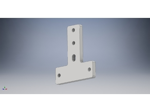 T-type fixed nut block screw Fit bracket plate