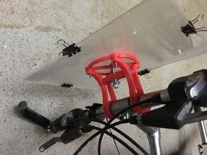 Bike card holder
