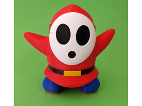 Shy Guy from Mario games - Multi-color