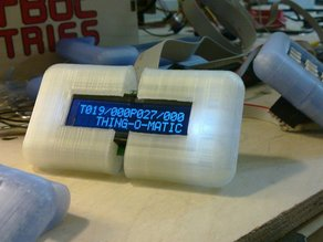 Thing-O-Matic LCD Temperature Readout