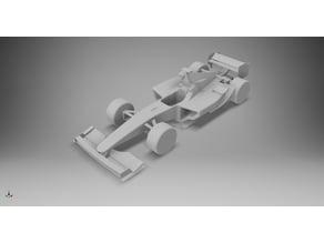 Formula 1 Racing Car 2007