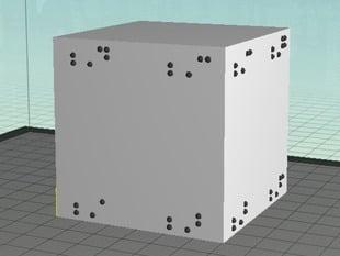 Braille labels plates A-J