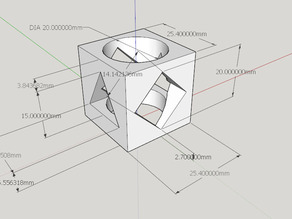 More fun calibration cube - rock paper scissors dice