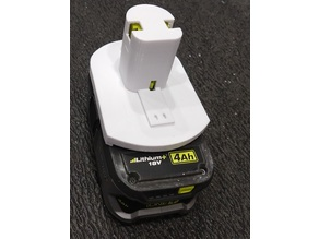 MPMD rounded Ryobi One+ battery base