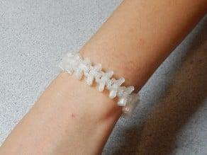 Fosillz Bracelet aka Snake Spine