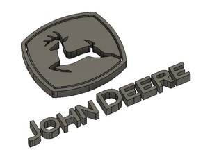 John Deere Badge