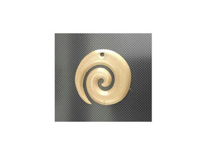 spiral necklace pendant