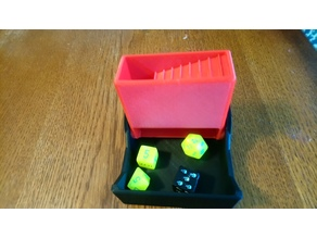 Portable Dice Tower / Dice Container