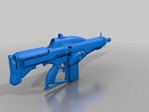 Destiny Exotic Auto Rifle Suros Regime 1:1 Scale