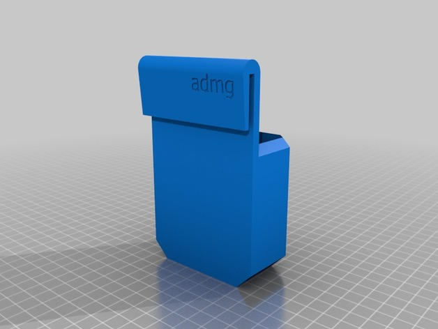 MakerBot Replicator 5G/Mini/Z18 - Smart Extruder Pouch by alexgibson