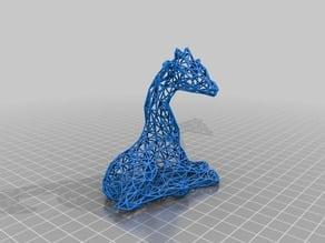 Wire Frame Giraffe