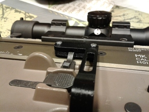 Airsoft SCAR Platform Lever Bolt Catch Release