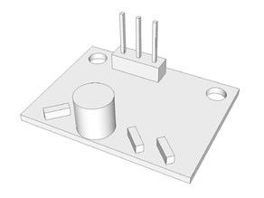 Escher3D's differential IR sensor board