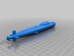Alfa Class Submarine (Simplified)