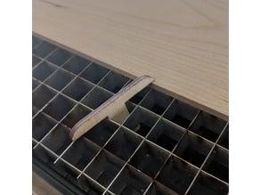 Vector Cutting Grid Hold down keys