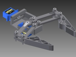 Robot Gripper 9g Micro Servo