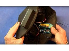 Bluetooth audio+FM player