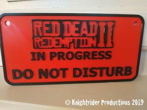 Red Dead Redemption 2 Door Panel