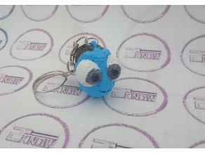 Baby Dory 3D - Pixar Finding Dory - Keychain