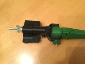 Mini tripod iphone clamp mount v2