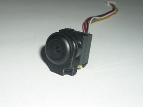 Holder for micro camera