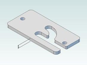 Prusa Mount for Makerbot mk7 Extruder
