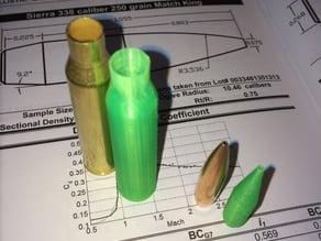 .338 Lapua Magnum Cartridge