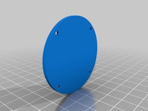 Blank back for a Katsu Tools dial indicator