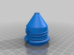 Airsoft speed loader water bottle adapter