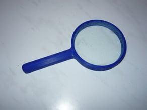 Magnifier frame