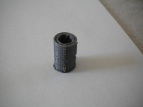 Printable LM6UU-sized PLA bushing