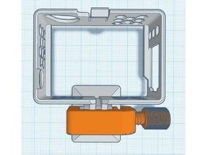 GoPro 3D Printed mount hardware (no metal) V2