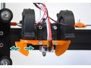 Interchangeable Dual Blower/Radial Fan Duct (Tevo Tarantula)