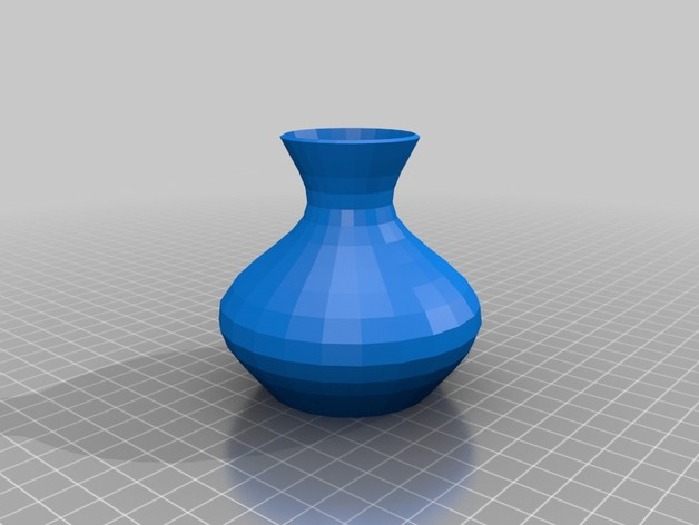 A Small Vase By Alexschreyer Thingiverse