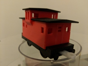 Snap-fit Caboose for Trackmaster