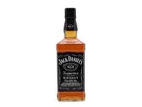 Jack Daniel's whiskey bottle lamp