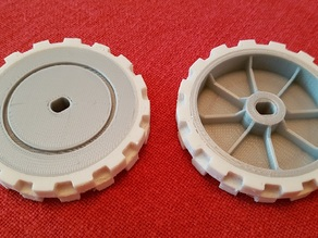 For Vorwerk VR100 modified Neato XV Series Replacement/Upgrade wheel