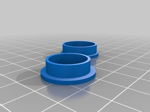 Hunter - 3.5 - knurled - small - Fidget Spinner Ring