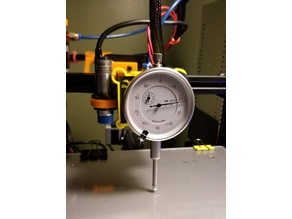 Ender 3 Harbor Freight Dial Gauge Holder