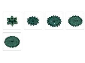 Vex high strength sprockets