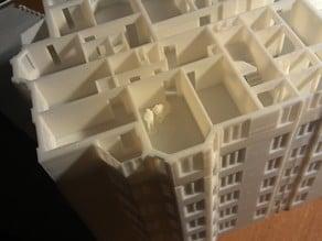 Blockhouse building 1:125