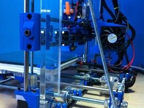 Soporte ventilador para Ramps 70mm i3 Metacrilato