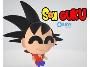 Son Goku Figure & Keychain - by Objoy Creation