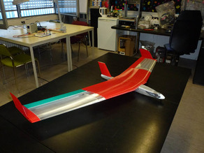 Slim fuselage for Red Swept Wing 2