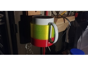 Wall Mount Coffee Cup Holder