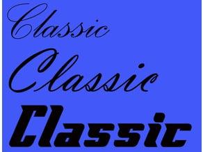 3 Classic car badges