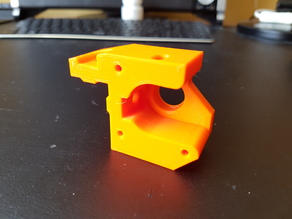 Prusa i3 Bear Upgrade y motor mount with endstop and bearing v3